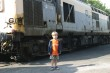 Nathaniel in front of diesel train (IMG_0820.JPG, 1536 x 1024, 625.7K)