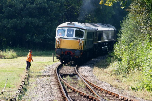 Cornwall Weblog: Train switching (IMG_0862.JPG, 600 x 400, 104.0K)